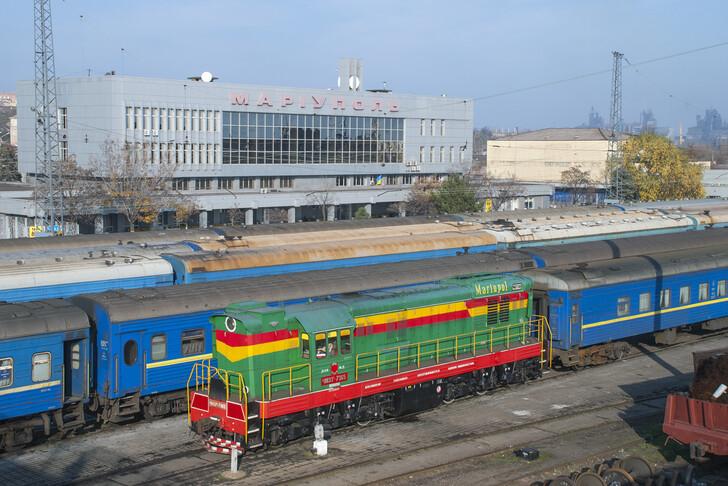 Поезд Мариуполь — Киев