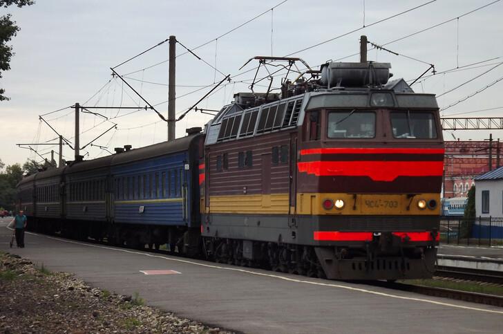 Поезд Лисичанск — Киев