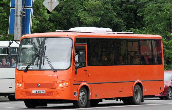 Автобус Воронеж — Бобров