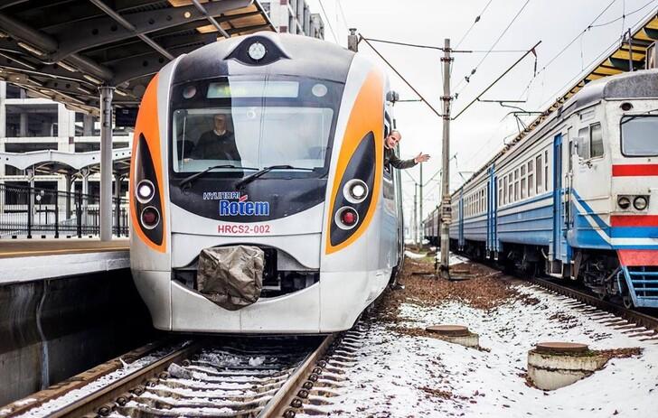 Поезд Киев — Львов