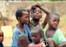 Соломенные люди или танец народа Бауле