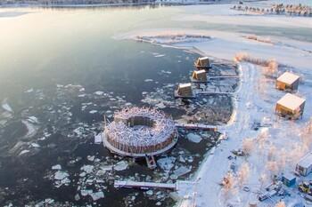 В Швеции открылся отель «Арктическая Баня»