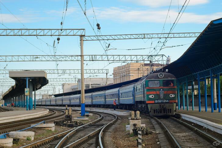 Поезд Запорожье — Киев