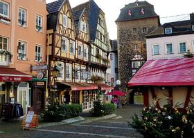 Замки Рейна в Рождество