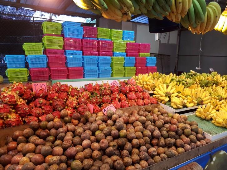 Тайские фрукты с корзиночками