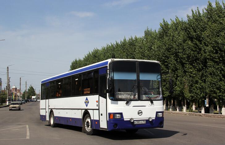 Автобус Воронеж — Таловая