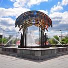 Фонтан «Времена года» в Тюмени