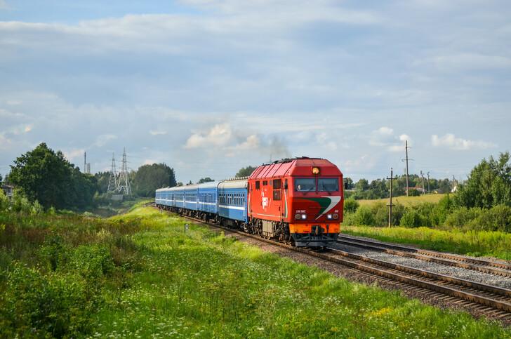 Поезд № 629 Минск — Гродно
