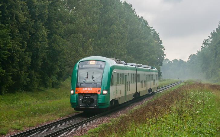 Поезд №749 Полоцк — Минск