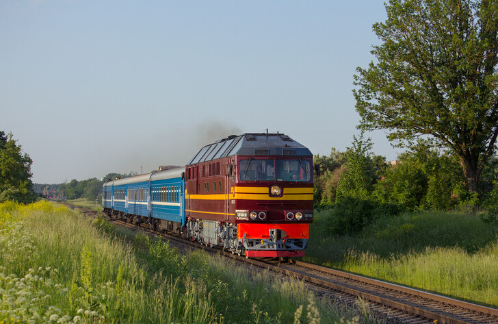Поезд Полоцк — Минск