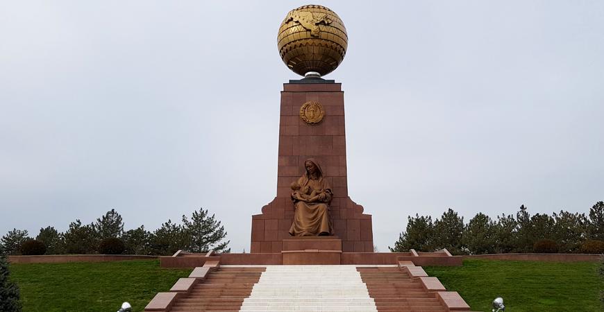 Монумент Независимости Узбекистана