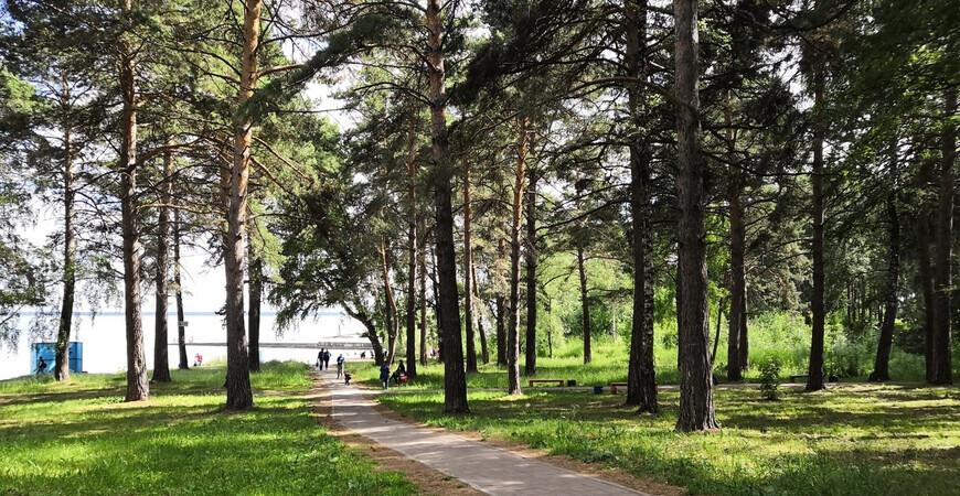 «Уморя Обского», парк культуры и отдыха