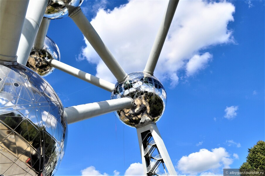 Атомиум — символ научно-технического прогресса!
