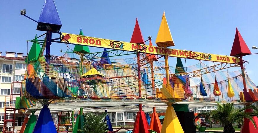 Веревочный парк «FunГрад» в «Бархатных сезонах»