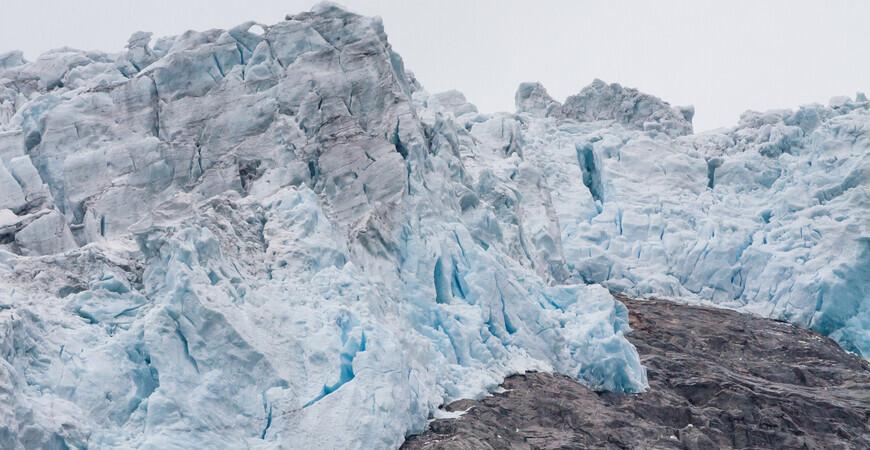 Ледник Юстедальсбреен (Jostedalsbreen)