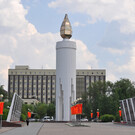 Площадь Памяти в Тюмени