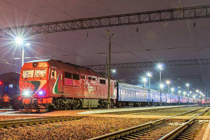 Поезд Минск — Могилёв