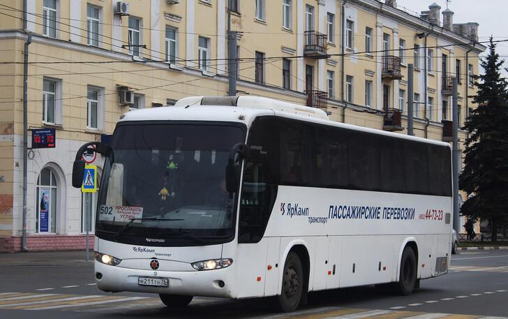 Автобус Ярославль — Углич