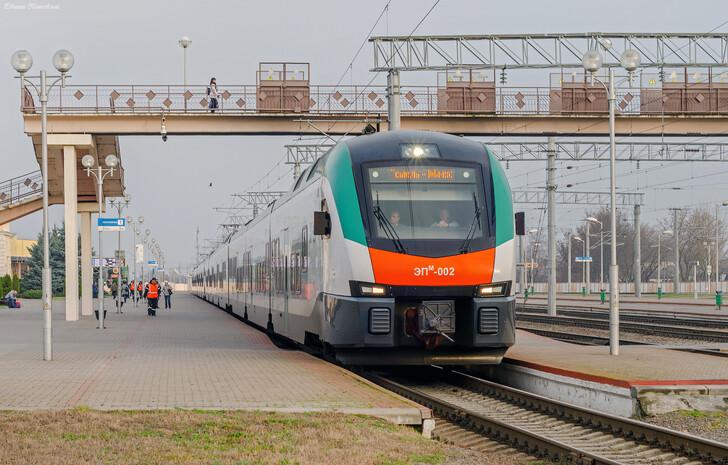 Поезд Минск — Жлобин