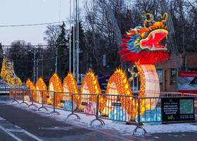 Сокольники. Выставка китайских фонарей