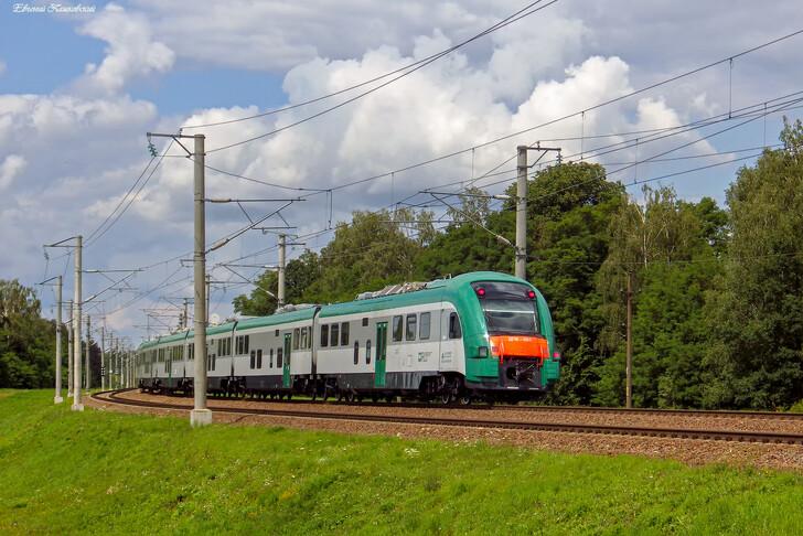 Скоростной поезд Жлобин — Минск