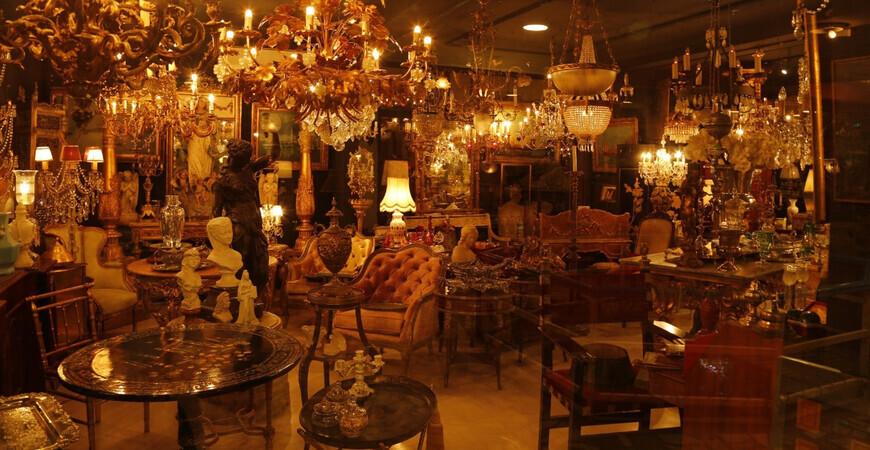 Антикварный магазин Аксарай