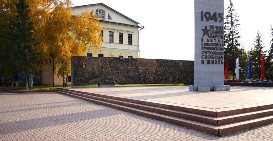 Историческая площадь Тюмени