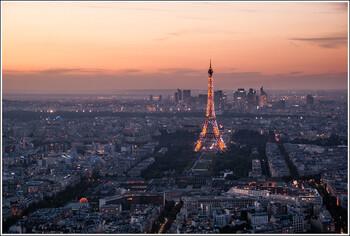 Турпоток из РФ в Париж вырос в 2019 году