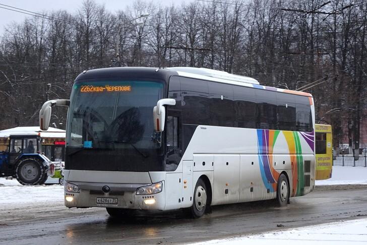 Автобус Вологда — Ярославль
