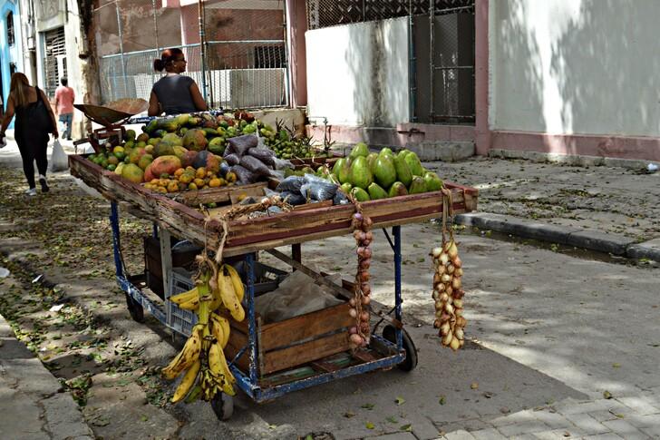 Фрукты с Кубы