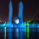 Лазерное шоу фонтана «Солнце»