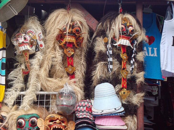 Традиционные балийские маски
