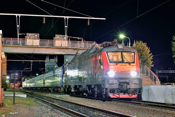 Поезд Москва — Минск