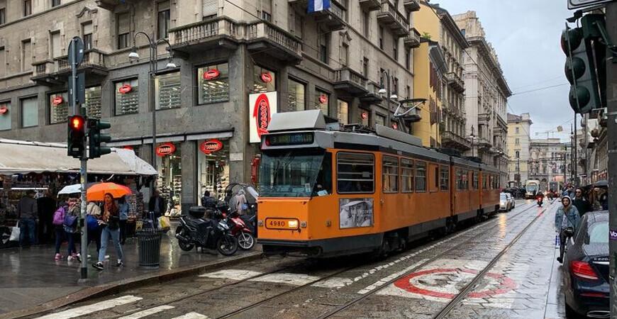 Улица Виа Торино