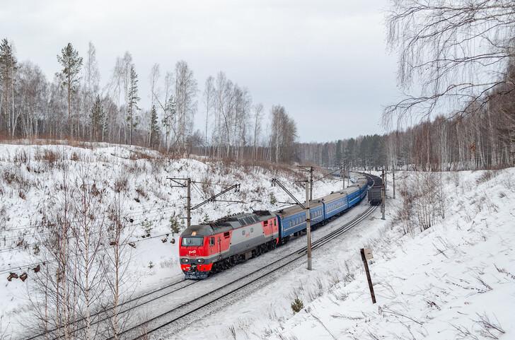 Поезд Новосибирск — Минск