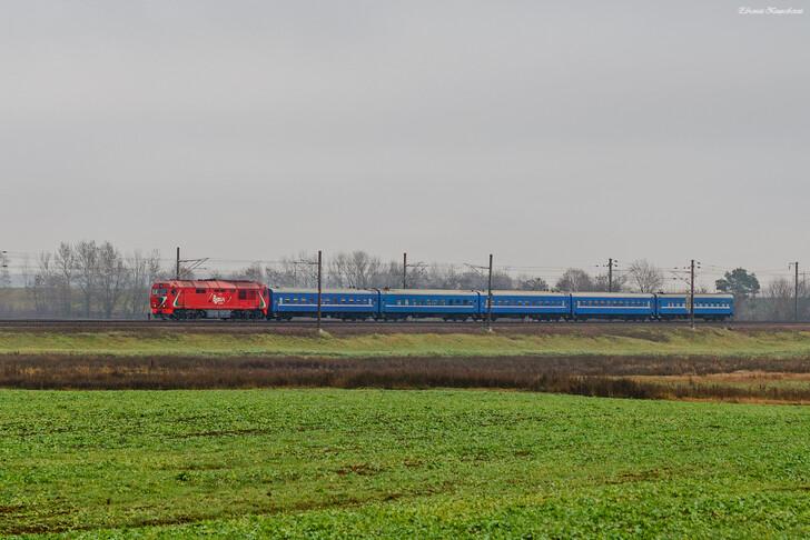 Поезд Минск — Одесса