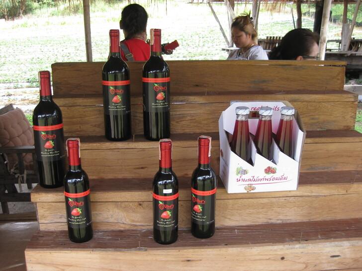 Клубничное вино из Таиланда