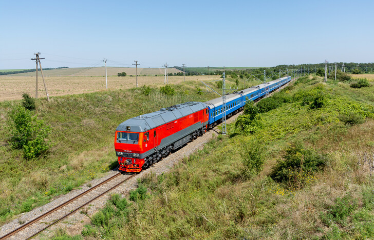 Поезд Минск — Анапа