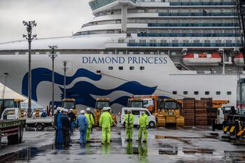 У эвакуированных с лайнера Diamond Princess туристов обнаружен коронавирус