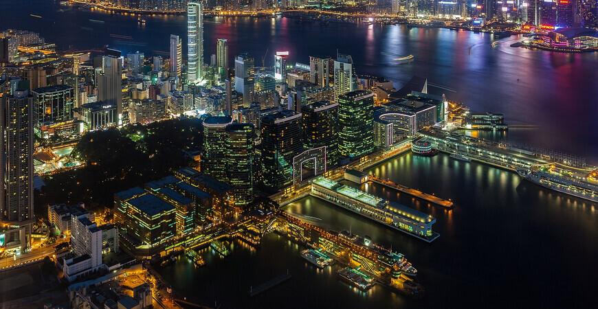 Смотровая площадка Sky100<br/> в Гонконге