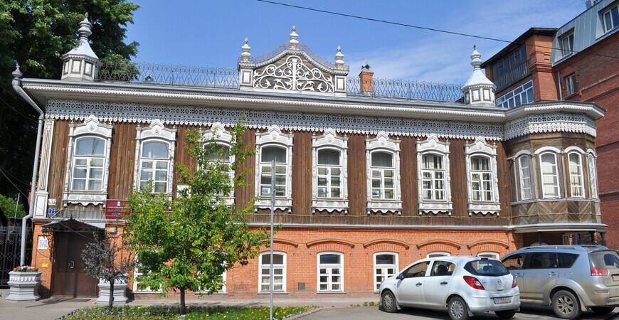 Дом Поповой в Тюмени