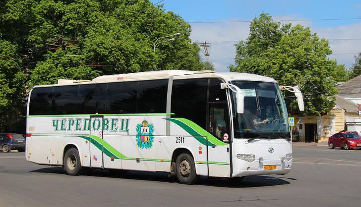 Автобус Череповец — Ярославль