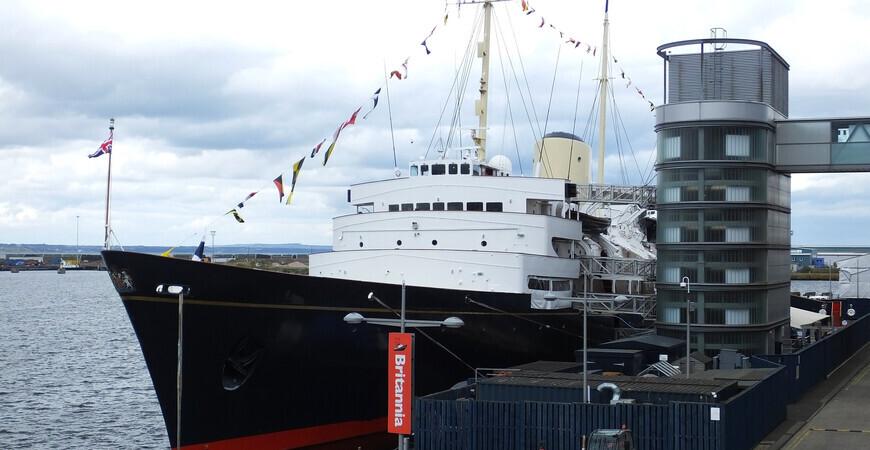 Королевская яхта «Британия»