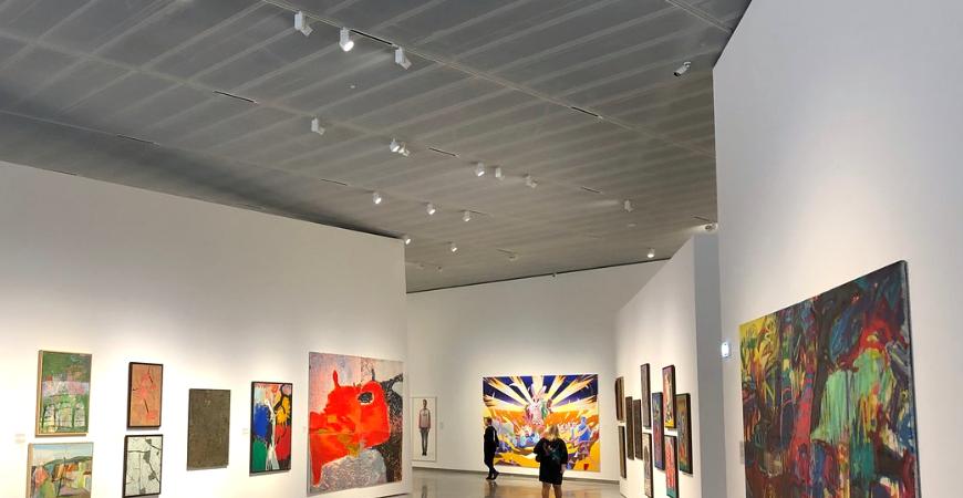 Музей современного искусства в Вильнюсе (MO muziejus)