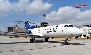 В аэропорту Алеппо впервые с 2012 года приземлился пассажирский самолёт