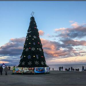 Курортная зимняя Алушта