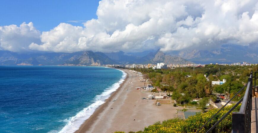 Пляж Beach Park в Анталии