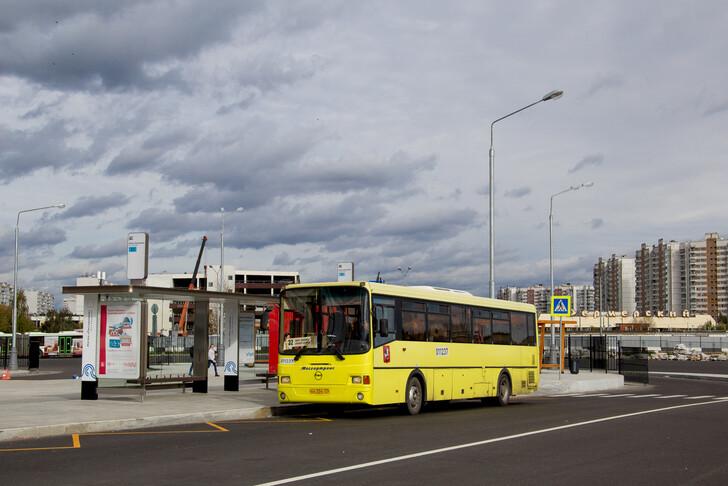 """Кольцо «Станция метро """"Рассказовка""""», автобус № 32"""