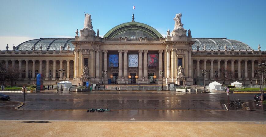 Большой дворец в Париже (Grand Palais)