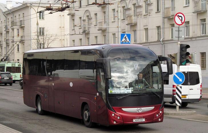 Автобус Минск — Варшава